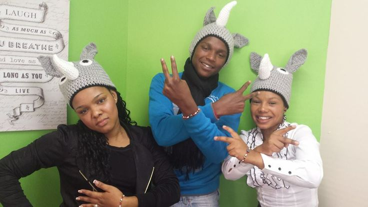 #Globeflight employees feel very strongly about rhino conservation.  Here, they have purchased their Rhino Force Bracelets in support of our rhinos.  www.beadcoalition.com  www.globeflight.co.za