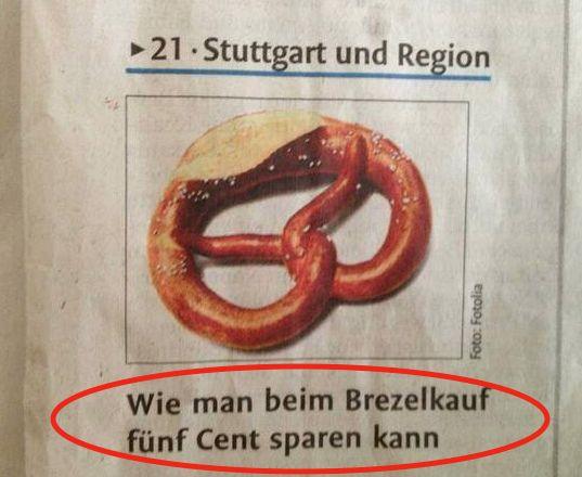 Das ist ein sehr wichtiger Artikel. | 19 Fotos, die Schwaben raffen, aber den Rest Deutschlands total verwirren