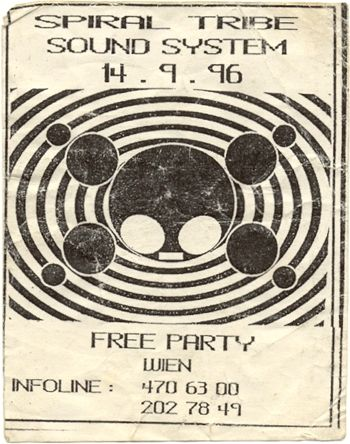 TEKNOPARTY ARE FREE    BASE de DONNES FREETEKNO    SPIRAL TRIBE
