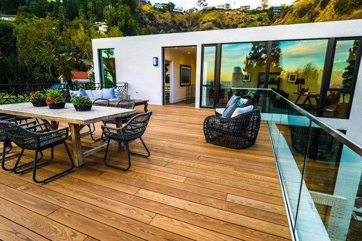 See Inside the Home Kendall Jenner Just Bought from Emily Blunt for $6.5 Million - The Rooftop Deck from InStyle.com