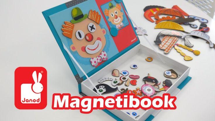 Janod Magnetibook - Démo du jouet magnétique en français HD FR