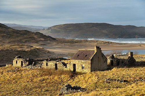 Ruined Cottage At Bettyhill, Scotland