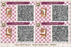 Here's a very cute Animal Crossing QR Winter Path.  http://rebloggy.com/post/acnl-acnl-path-acnl-paths-acnl-winter-acnl-winter-path-acnl-path-qr/100186236688