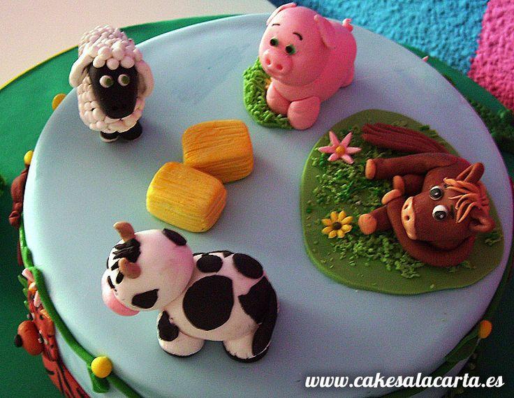 tartas de animales de granja - Buscar con Google