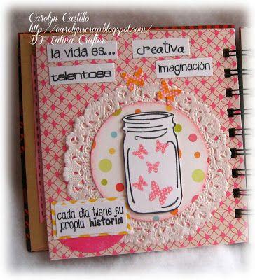 Latina Crafter - Sellos en Español: Mini Smash con Latina Crafter