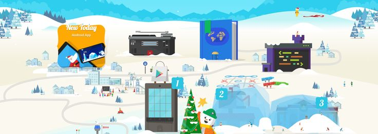 Google Santa Tracker began: learn to program throw snowballs and much more!