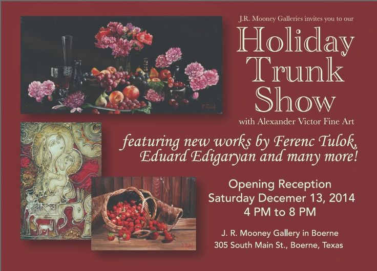Holiday Trunk Show Postcard