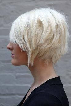 TRY IT: Pixie Cut Styling Idea -- The Slick and Short Pompadour. #pompadour #pixie #haircut
