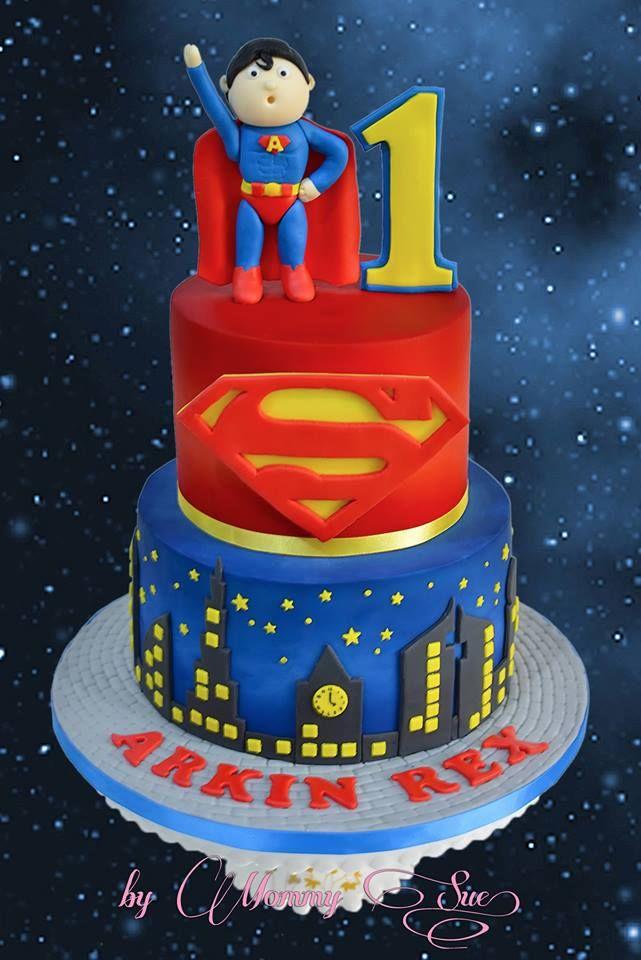 1000 Ideas About Superman Cakes On Pinterest Superman