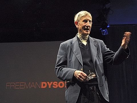 Physicist Freeman Dyson suggests that we start looking for life on the moons of Jupiter and out past Neptune, in the Kuiper belt and the Oort cloud. He talks about what such life would be like -- and how we might find it.