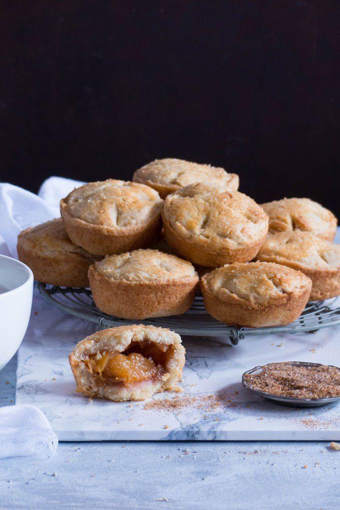 Ginger Cookie Peach Pies Recipe In 2018 Pie Pinterest Pie