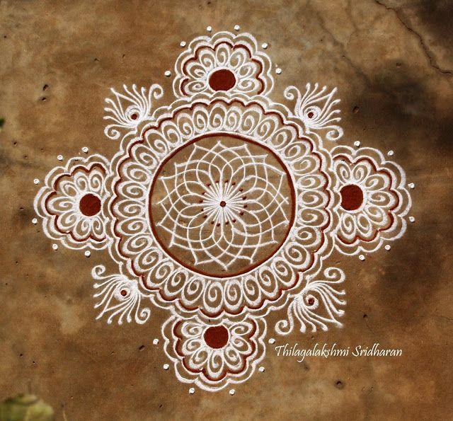 Rangoli and Art Works: FREEHAND KOLAM