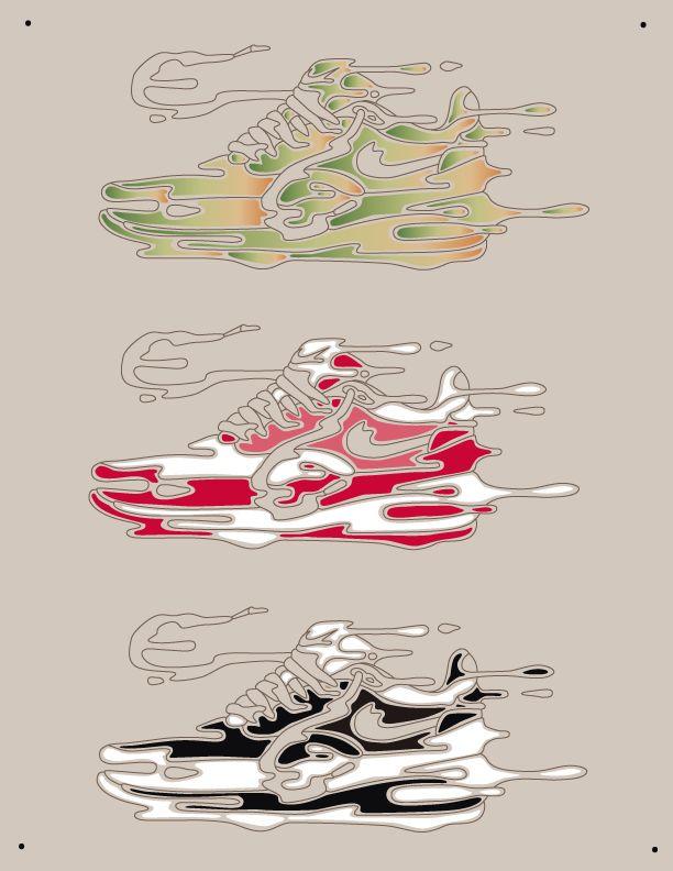 Proceso creativo, Ilustración Air Max 1 Nike