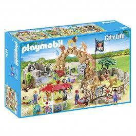Grand zoo PLAYMOBIL CITY LIFE - 6634
