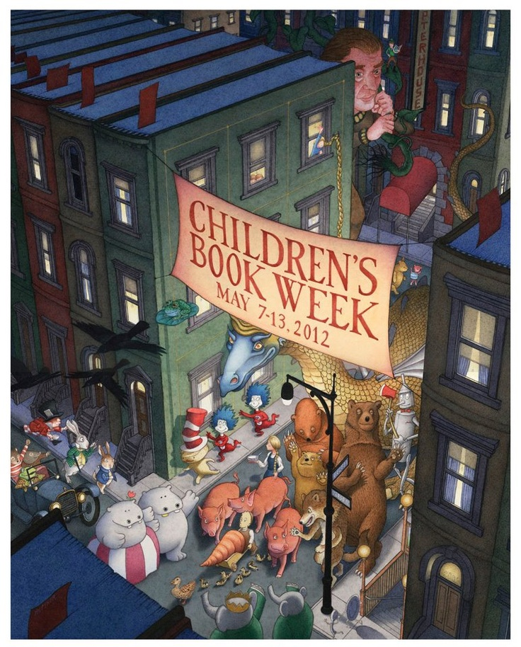 16 best david wiesner images on pinterest childrens books kid childrens book week 2012 poster by david wiesner fandeluxe Images