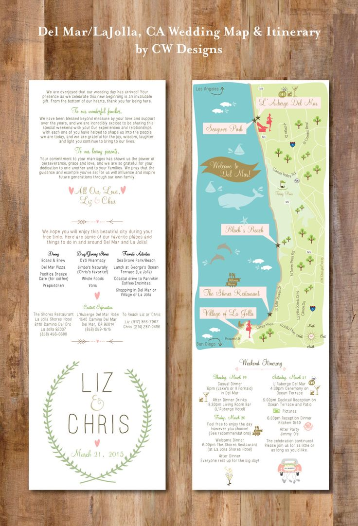 25 best wedding itinerary images on pinterest wedding cards beach wedding map infographic with itinerary wedding invitation insert infographic map choose stopboris Image collections