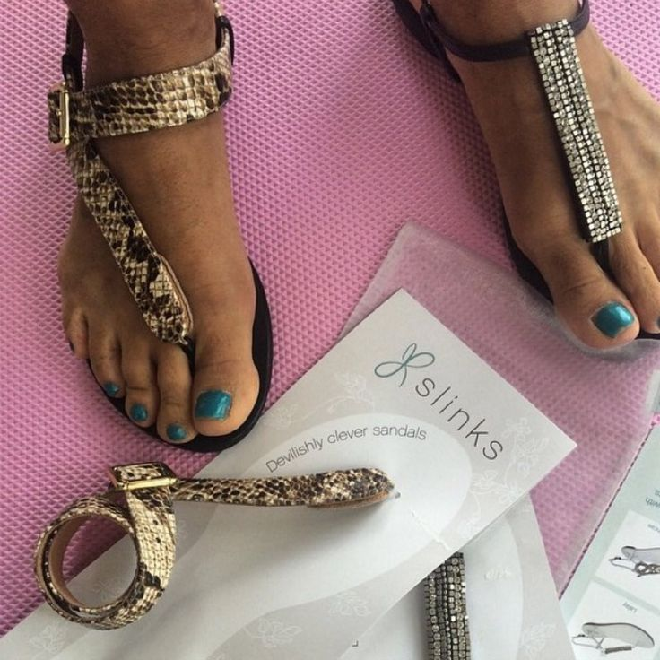 Which sandals to choose? Now you can take them all with you! #slinks the cleverest sandals in the world #haveslinkswilltravel