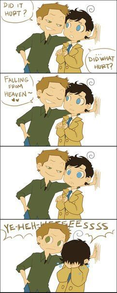 Deeeeeeeeeean. Why would you do that?? Destiel is amazing<<<<I don't even ship Destiel but this is adorable