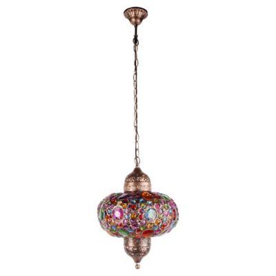 Lámpara colgante Bombay E14