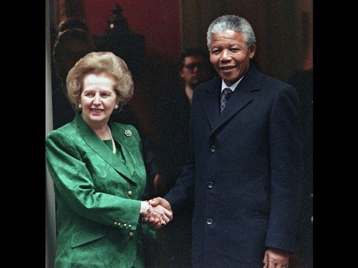 L'album-photo de Mandela : de Naomi Campbell à Georges Marchais