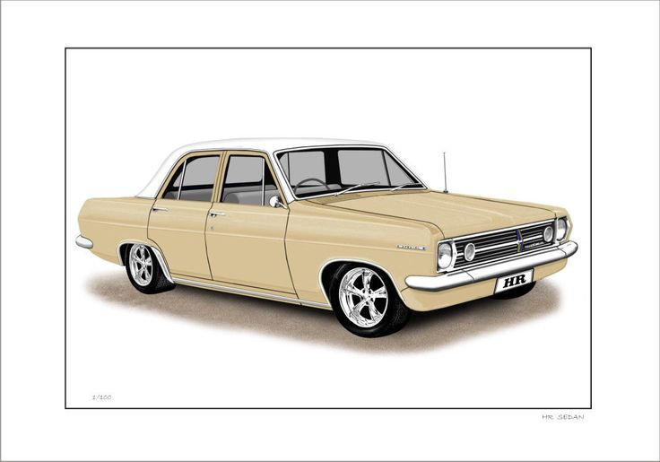 66' 67' HOLDEN HR SPECIAL SEDAN LIMITED EDITION CAR PRINT AUTOMOTIVE ARTWORK | eBay