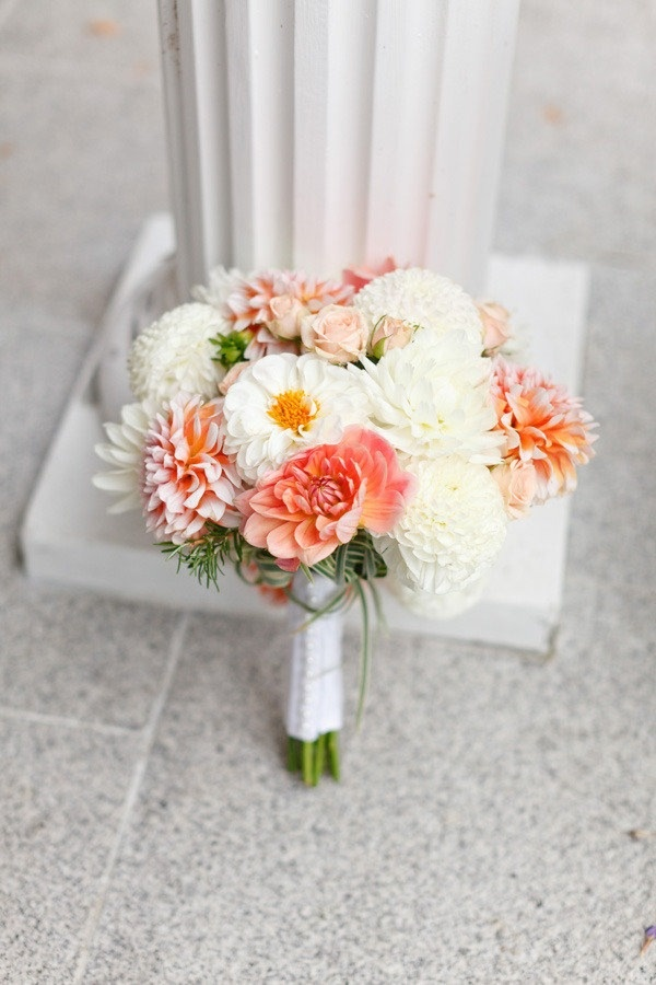 Coral and ivory