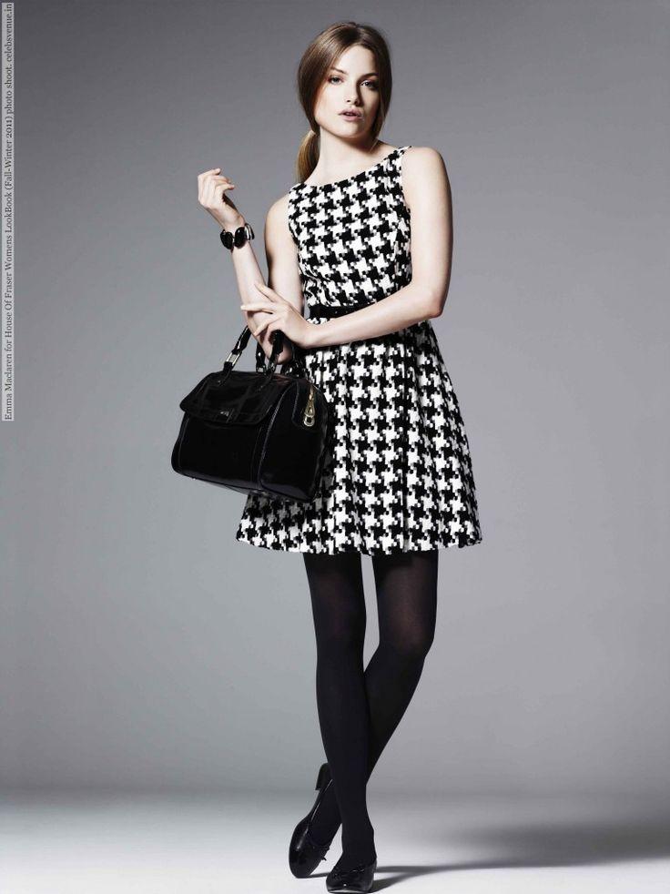 Emma Maclaren for House Of Fraser Womens LookBook (Fall-Winter 2011) photo shoot