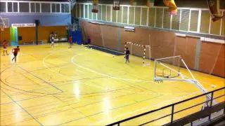 ejercicios del futbol de sala - YouTube