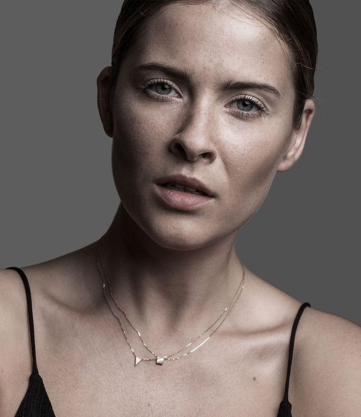 Isabela Rocca 14K minimalistic necklaces