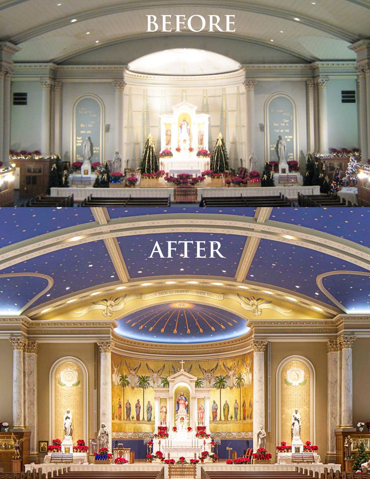 St. Peter Catholic Church, Omaha, Nebraska. Decorative