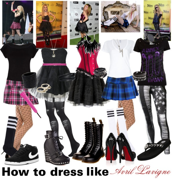 How To Dress Like Avril Lavigne 3 By Alltimeinsane