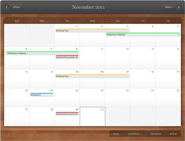 Steps to style an event calendar using Drupal 7 Drupal - event calendar