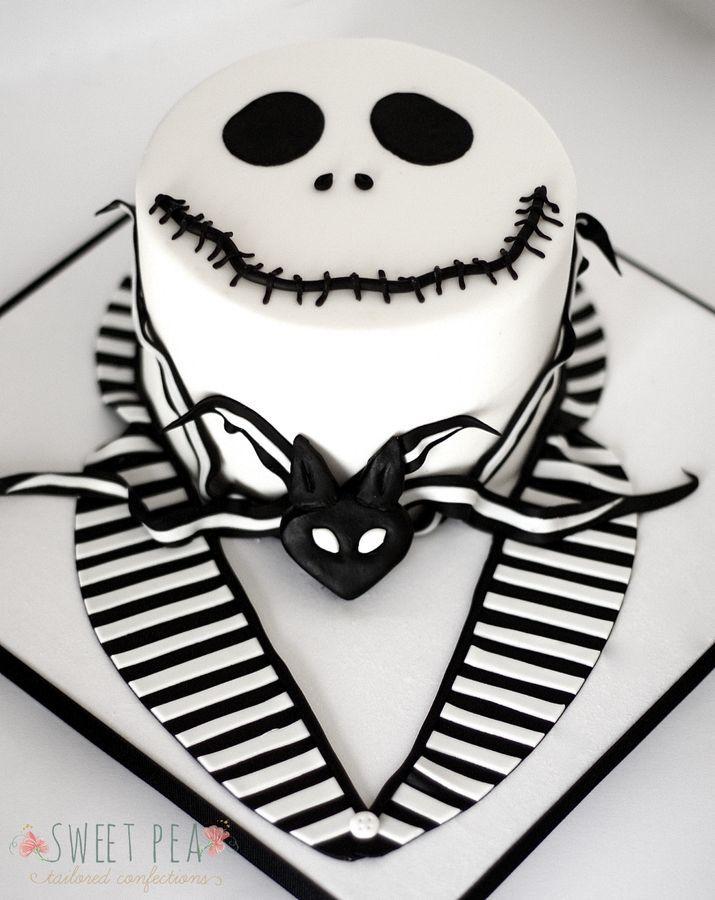 Jack Halloween Cake