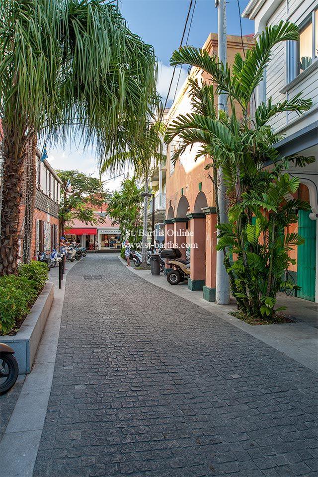 Street in Gustavia St Barths