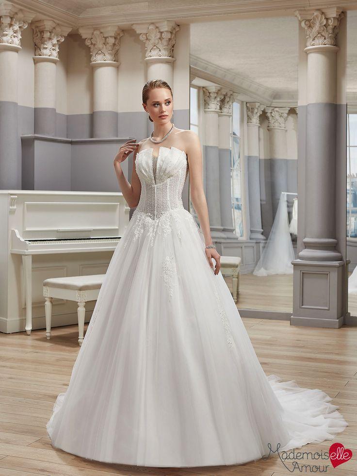 Robe de mariée Mlle Ballerine, robe de mariée large volume de tulle -  Pronuptia