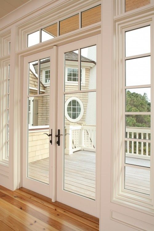 25 best ideas about exterior french doors on pinterest - How to install an exterior sliding barn door ...