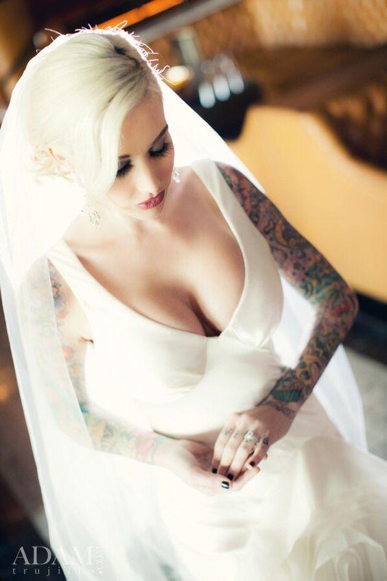 Fabulous alternative bride