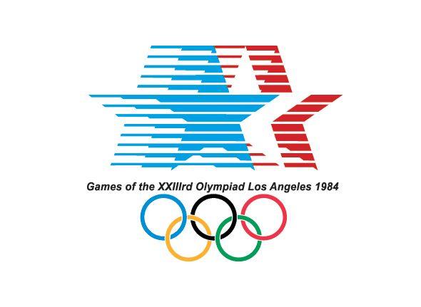 Logo de las olimpiadas Los Angeles 1984