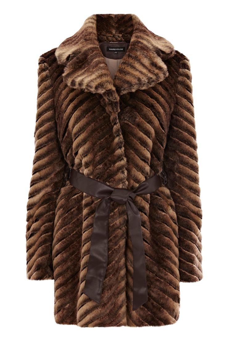 Best 25+ Brown faux fur coat ideas on Pinterest | Faux fur ...