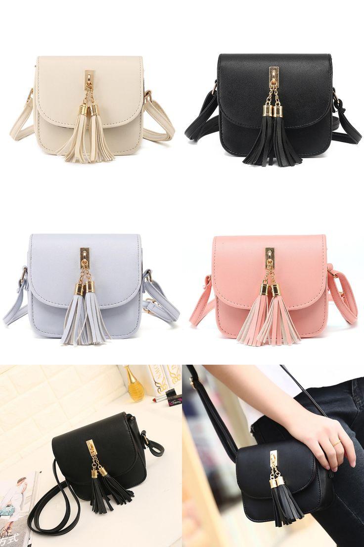 [Visit to Buy] Women Fashion Tassel Handbag Shoulder Bag Large Tote Ladies Purse bolsas femininas couro bolsas de marcas famosas #Advertisement
