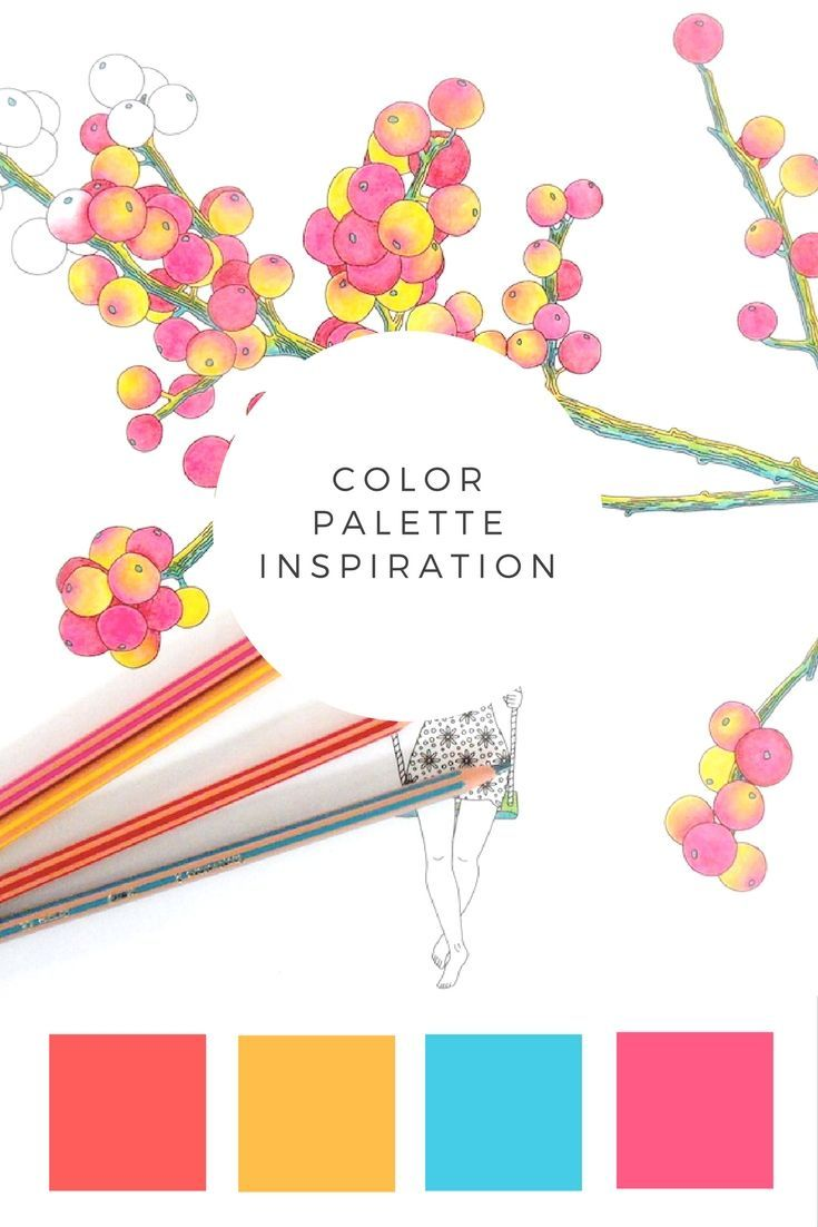 Because we all know the struggle to find the best color combination - here's something for all you coloring freaks! Coloring palette inspiration :)