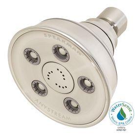 Speakman Caspian 3.75-In 2.0-Gpm (7.6-Lpm) Brushed Nickel 3-Spray Wate