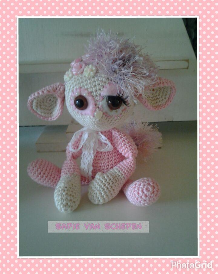 fantirumi Punky, patroon van http://www.ravelry.com/designers/crochessie-by-esther-emaar