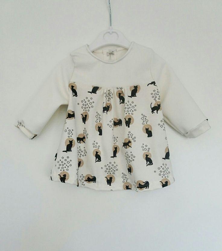 baby kerst jurkje, patroon uit de knippie! #handmade #kerstjurkje #babyfashion