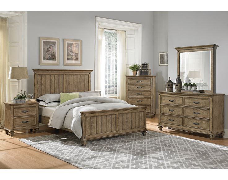 Bedroom Furniture-The Hartwell Collection-Hartwell Queen Bed ...
