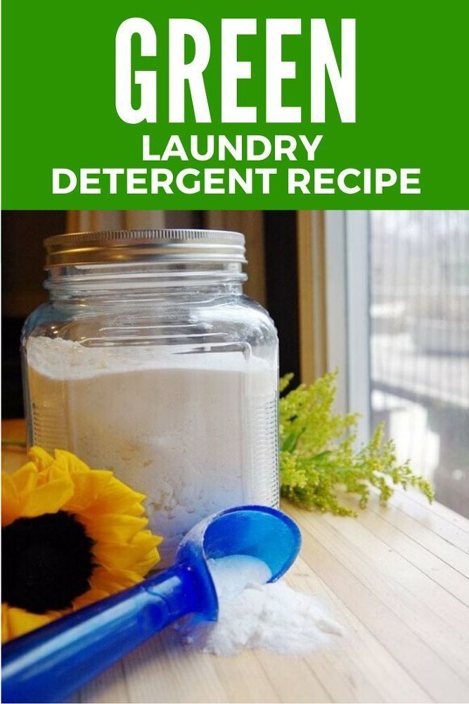 All Natural Laundry Detergent Recipe Laundry Detergent Laundry Detergent Recipe Natural Laundry Detergent