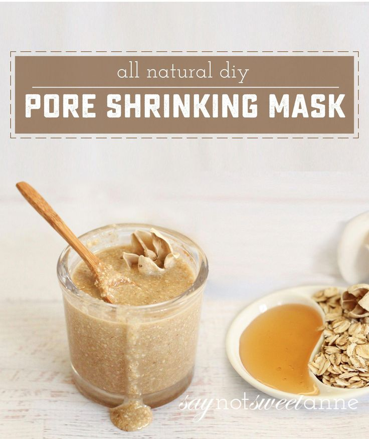 Natural Pore Shrinking Mask with honey and oatmeal…