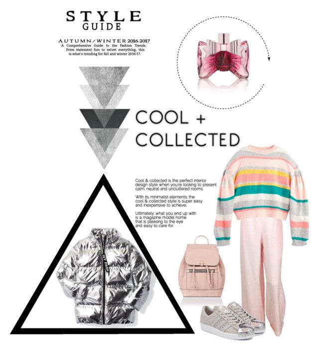 """""""PufferJacket"""" by nancykou on Polyvore featuring Chanel, adidas Originals, Accessorize, Ivy Park and Viktor & Rolf"""