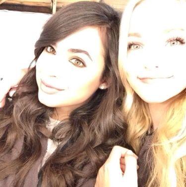 Sofia Carson and Dove Cameron #beautiful #my little cupcake princesses