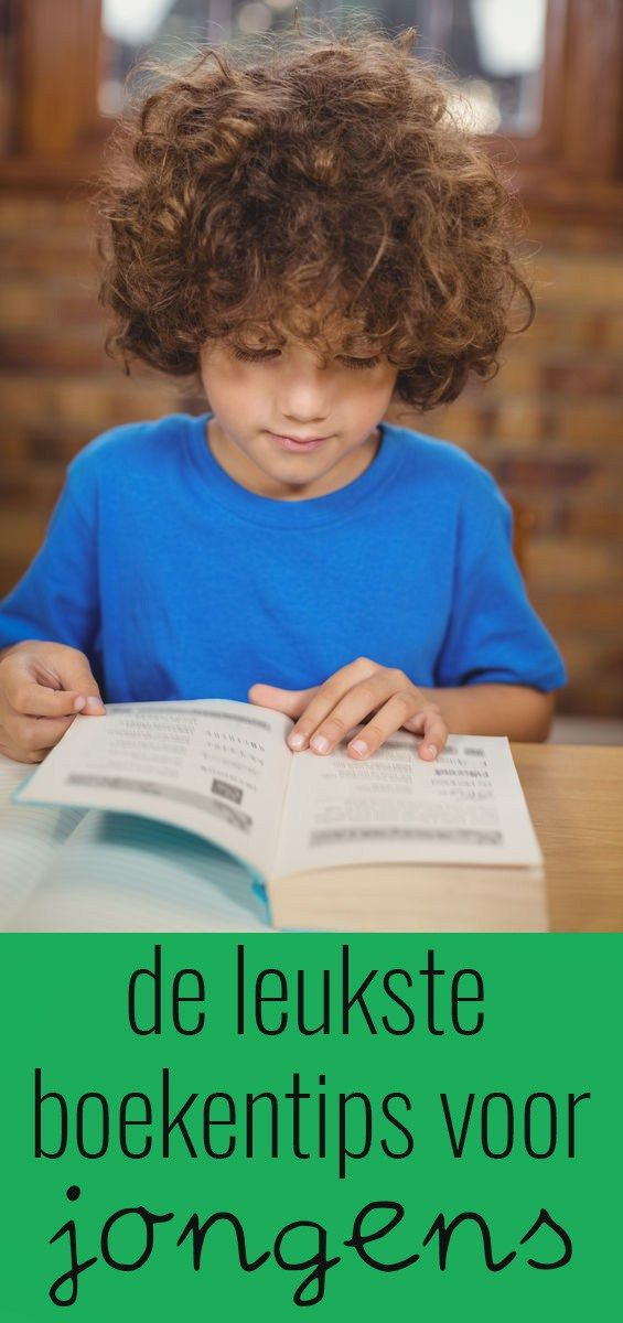 de leukste boekentips voor jongens